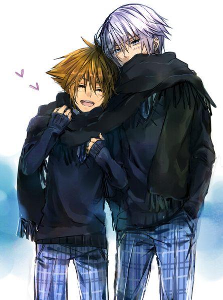 Kingdom Hearts - Riku x Sora