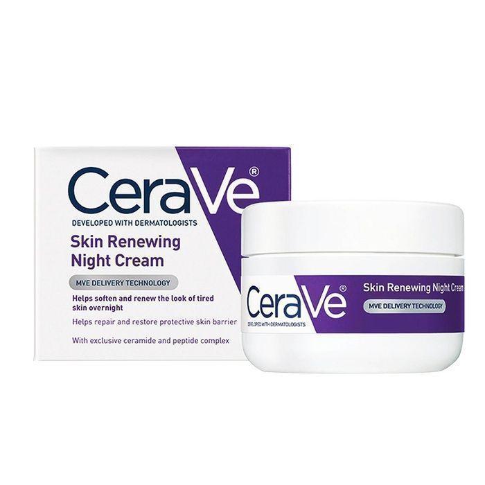 10 Best Drugstore Night Creams - #6 CeraVe Skin Renewing Night Cream #rankandstyle #facecreamsdrugstore