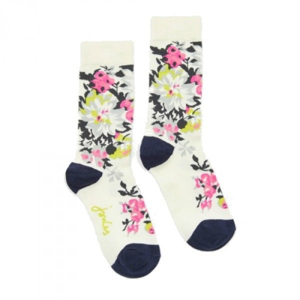 The perfect designer gift that does not cost the earth.Designer Joules Brilliant Bamboo socks with beautiful floral design for only £8.95 with free UK delivery. Made from Bamboo, makes them hypoallergenic and thermo regulating. www.kindredsole.c...