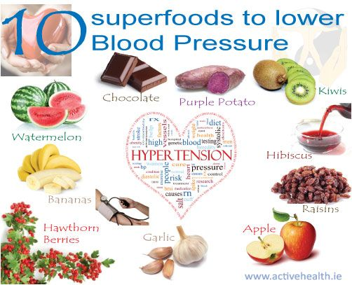 10 Superfoods that Lower Blood Pressure | Active Health Foundation