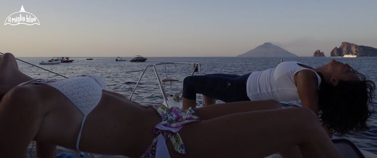 amazing afternoon next to Panarea on our way to Stromboli