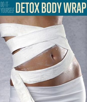 DIY Detox Body Wrap