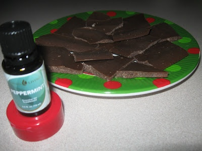 Peppermint Chocolate Treats    1 cup of coconut oil, softened but not melted  1/2 cup of cocoa powder  1/4 cup of honey  5-6 drops of Young Living Peppermint essential oil  Mix this all together and then we poured it onto a waxed paper cookie sheet. Place the tray level into the freezer and wait about 15 minutes. We then broke it up into pieces and enjoyed! You will need to keep them in the freezer, so they don't melt.: Peppermint Essential Oils, Oil Mixed, Coconut Oil, Everyday Oil, Oil Solutions, Peppermint Essentialoil