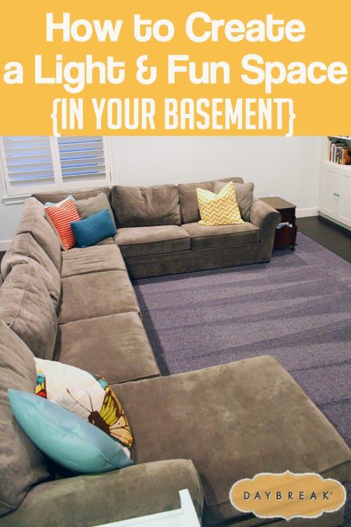 Tips For Creating A Light U0026 Fun Space In Your Basement. Beautiful Photos  And Great Ideas.