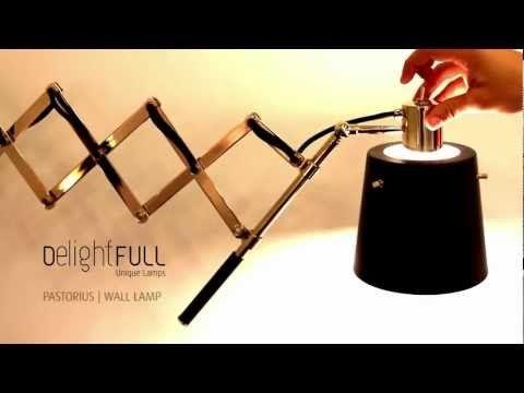 Wall Lamp Pastorius - Delightfull | Unique Lamps design lamps vintage retro fashion