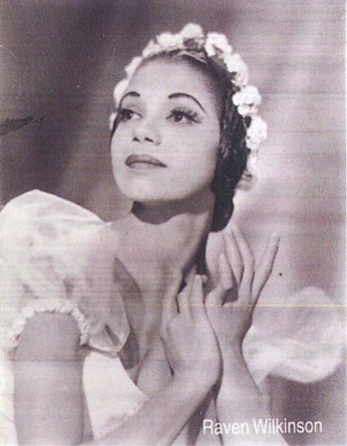Raven Wilkinson, one of the first Black/African American ballerinas to join a major ballet company black-vintage