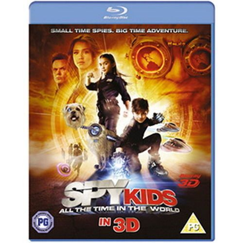SPY KIDS : ALL THE TIME IN THE WORLD 3D BLU-RAY w/ JESSICA ALBA