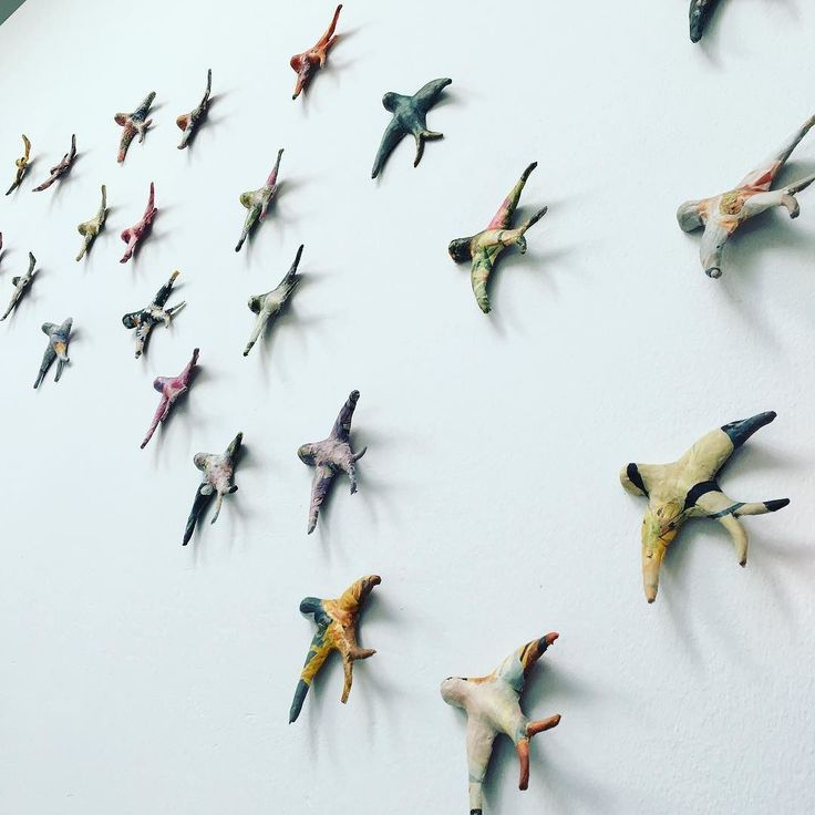 The swallows are flying to the sun #carmenvarela #art #madrid #installationart