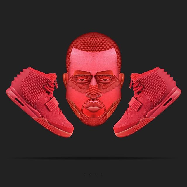 """AIR YEEZY """" Red October"""" by @nike 