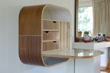 Wall Desk. Vurv Design. #workspaces