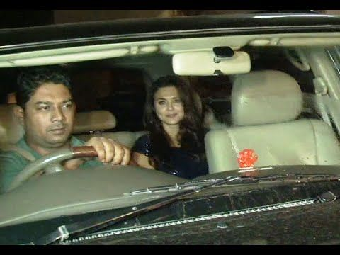Preity Zinta at Salman Khan's Galaxy Apts for EID celebration.