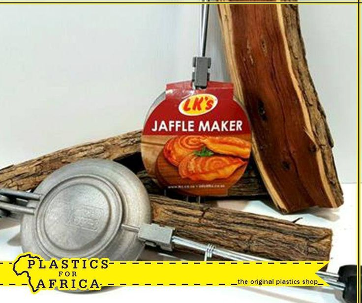 Enjoy delicious sweet and savoury treats with the original aluminium LK's Jaffle Maker, available from #PlasticsforAfrica.