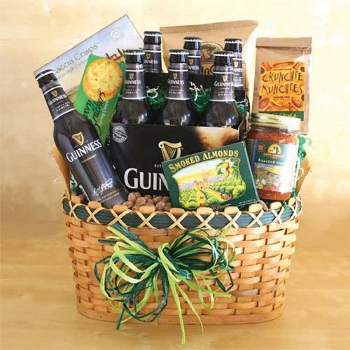 22 best wine gift baskets images on pinterest wine baskets imported irish beer basket gift for men for a special occasion or no occasion at all guinness gift beer basket is an excellent gift for the beer lover negle Choice Image