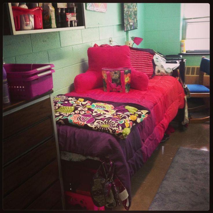 My Dorm Room Mansfield University Vera Bradley Blanket