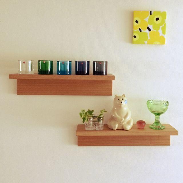 無印良品のウォールシェルフ「壁に付けられる収納」を活用して収納上手になろう!   RoomClip mag   暮らしとインテリアのwebマガジン
