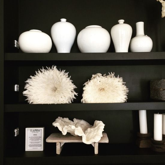 Black Cabinetry at the LuMu Store