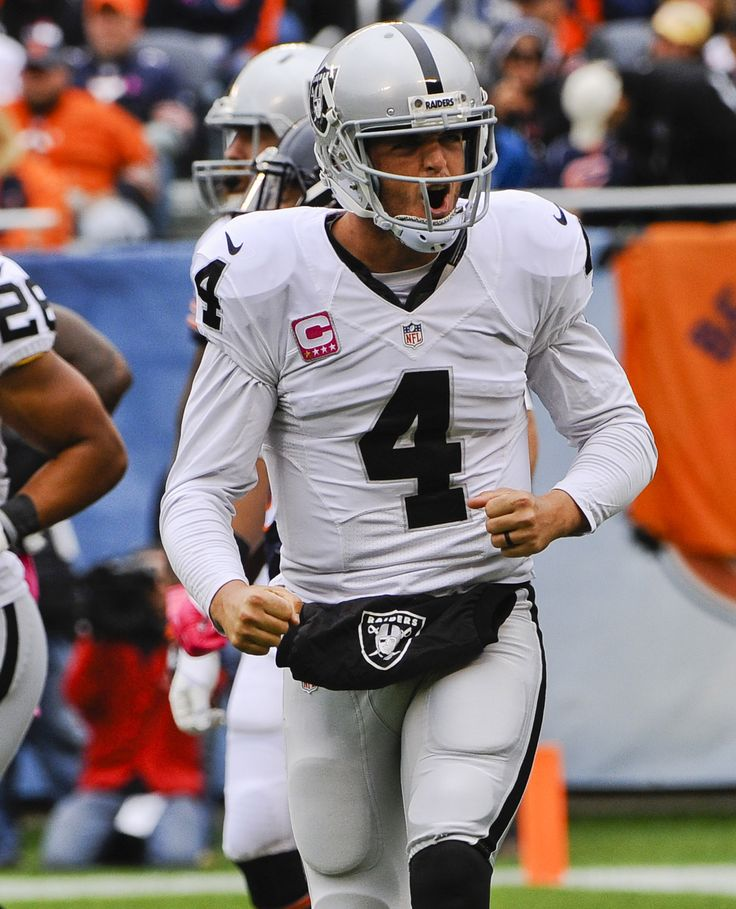 Oakland Raiders: 3 takeaways from loss vs. Bears -   October 5, 2015 by RJ Chavez -   Derek Carr can't do it all, needs help from Latavius Murray -    Oct 4, 2015; Chicago, IL, USA; Oakland Raiders quarterback Derek Carr (4) yells after a touchdown was scored in the first half against the Chicago Bears at Soldier Field. Mandatory Credit: Matt Marton-USA TODAY Sports -     Oakland Raiders