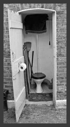 Outside toilets, had one in our first house. But I don`t remember it,as the houses in Old Trafford where we lived were all bulldozed in 1971,when I was 4.