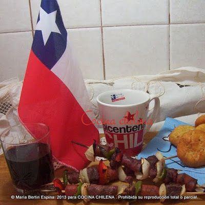 .COCINA CHILENA: COMIDAS FIESTAS PATRIAS CHILE