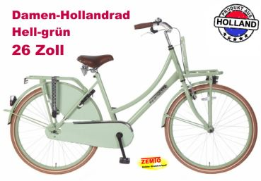 Damen Hollandrad 26 Zoll POZA Daily grün