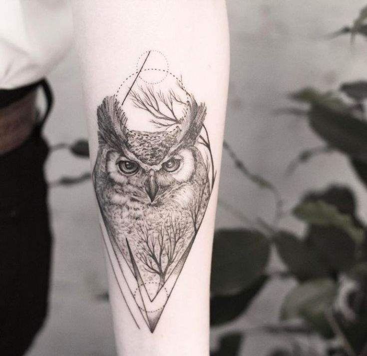 50 of the Most Beautiful Owl Tattoo Designs and Their Meaning for the Nocturnal Animal in You - KickAss Things