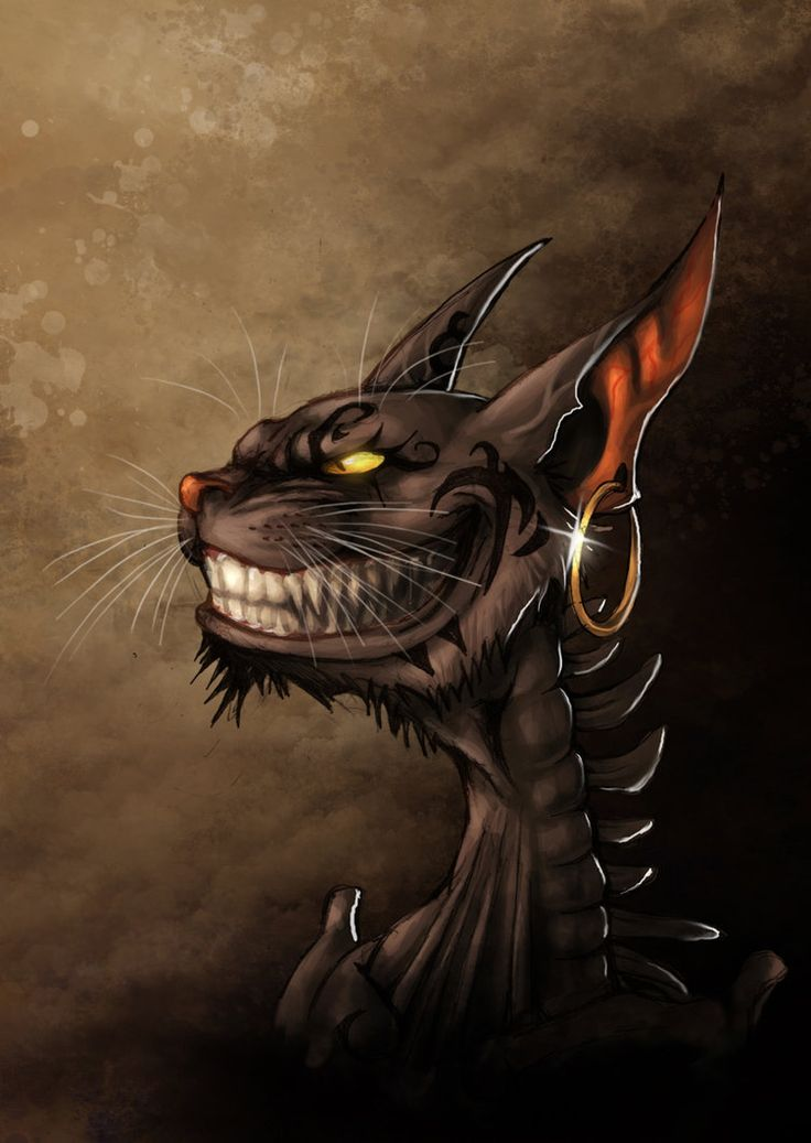 Alice Madness Returns Cheshire Cat. Dark and creepy pic yet insanely awesome at the same time.