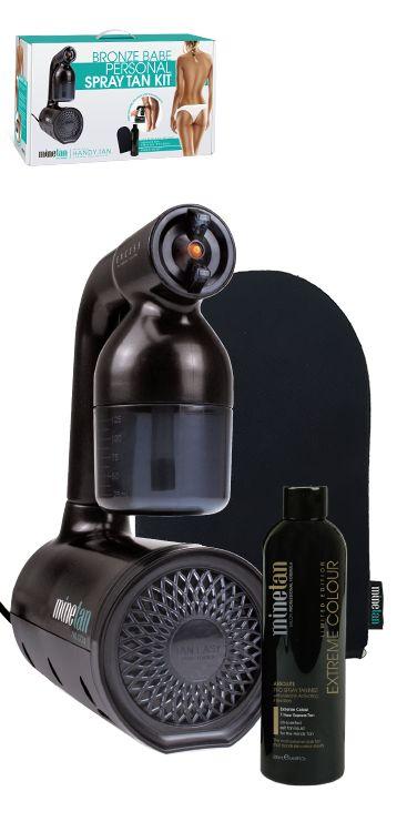 MineTan Retail AU - Bronze Babe Personal Spray Tan Kit, $149.00 (http://au.retail.minespraytan.com/bronze-babe-personal-spray-tan-kit/)
