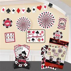 Casino Room Decorating Kit  from Windy City Novelties