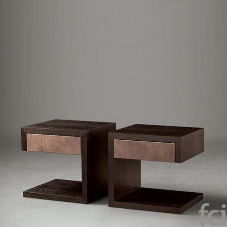 Rivoli Bed Collection Side Table by Oasis Group