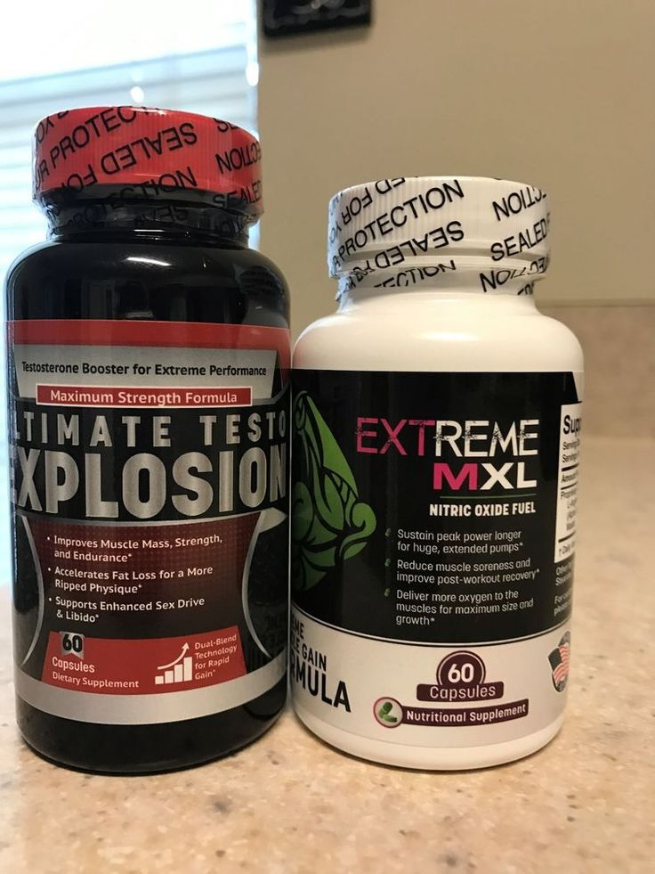 ULTIMATE TESTO EXPLOSION & EXTREME MXL! TESTOSTERONE BOOSTER & NITRIC OXIDE FUEL | Health & Beauty, Vitamins & Dietary Supplements, Sports Supplements | eBay!