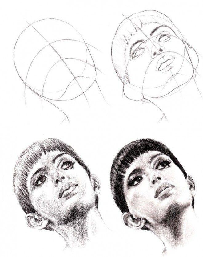 cómo dibujar caras                                                                                                                                                                                 Más