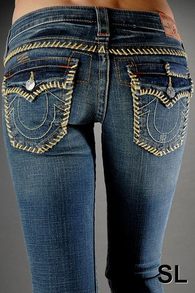 True Religion- totally want a pair of these!! They are such great jeans!!!