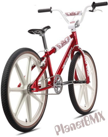 "Now that is a sexy looking bike.  I love Skyways BTW.    Complete Bikes - 24"" BMX - 2013 SE Racing Floval Flyer retro Looptail bike - PlanetBMX.com - Retro BMX parts & more!"