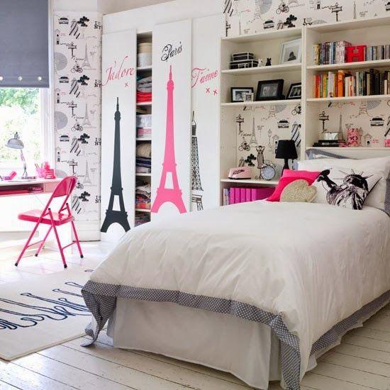Housemaniaczka - blog o pięknych wnętrzach: Pokój nastolatki - kilka inspiracji