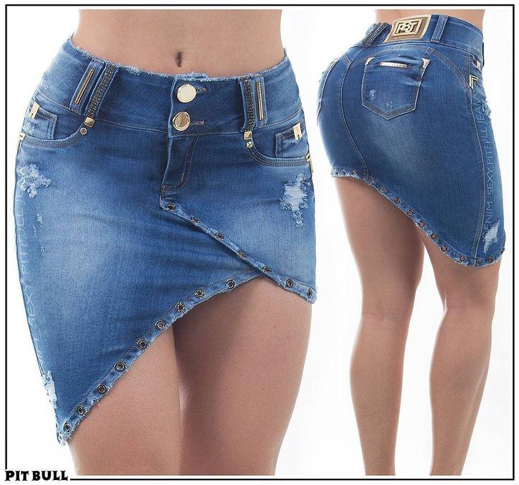 Saia PIT BULL JEANS Siga no Instagram @pitbulljeans - Informações: WhatsApp +55 62 99568-5111 INBOX- CHAT SITE - #tendência #jeans #linda #detalhes #efeitos #estilo #pitbulljeans #modelagemperfeita