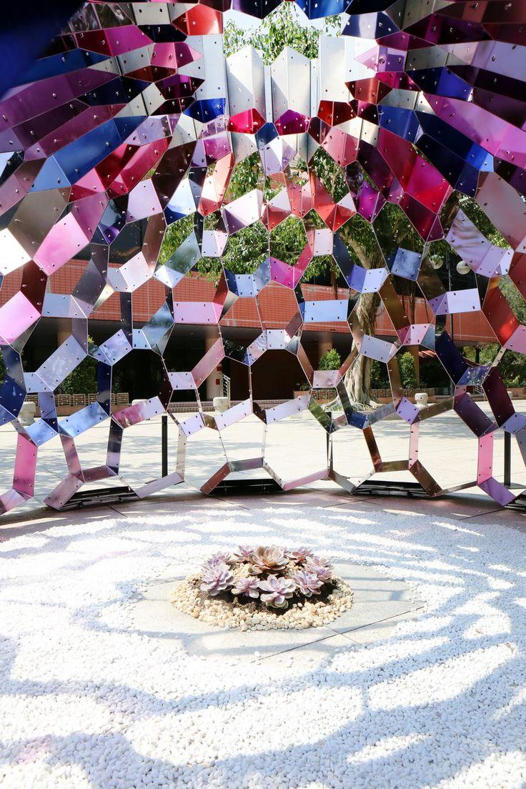 Kaleidome, une installation d'art public