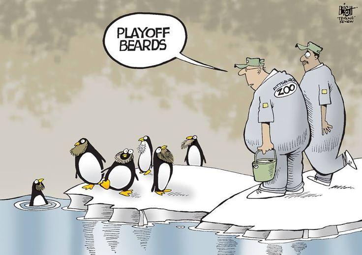 Playoff beards...love it!