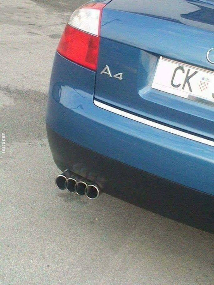 Oryginalny wydech Audi #wydech #Audi