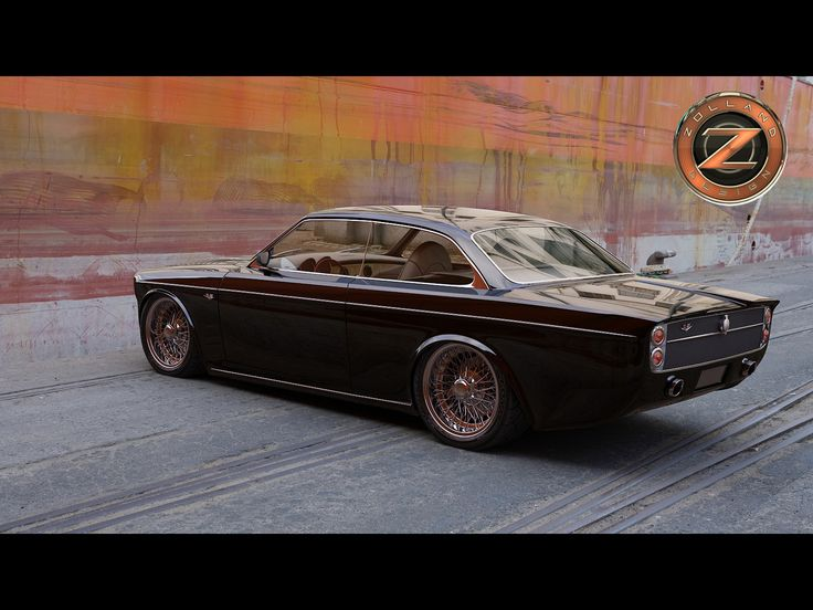 Volvo 142 Custom by Zolland Design - Rear And Side 2 - 1600x1200 - Wallpaper