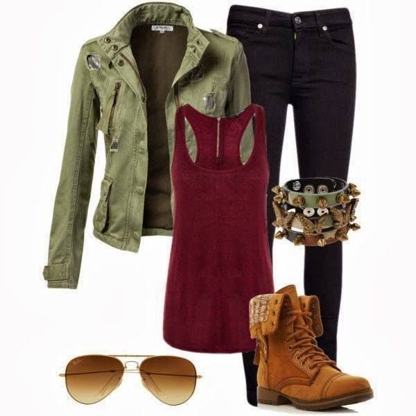 Rocker Outfit. Great wear to a concert.