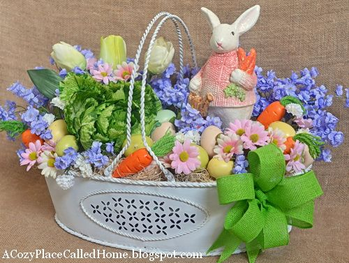 266 best easter baskets images on pinterest easter crafts 12 adorable easter ideas and of course making the world cuter monday negle Choice Image