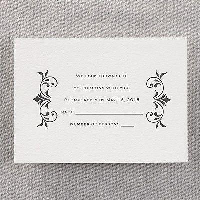 791 best respond invitation cards images on pinterest invitation stunning elegance letterpress respond card and envelope weddingneedsrlsoncraft stopboris Choice Image