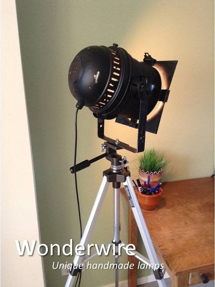 Een persoonlijke favoriet uit mijn Etsy shop https://www.etsy.com/listing/275672332/black-tripod-28cm-vintage-studio-lamp