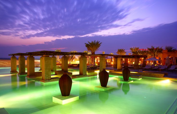 Infinity Pool at Bab Al Shams Desert Resort & Spa