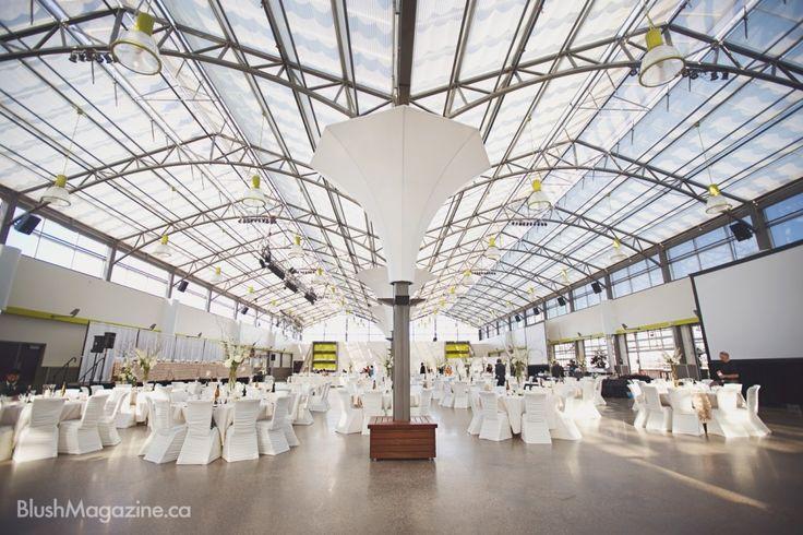 Blush's Venue of the Year 2015: The Enjoy Centre #edmontonweddingvenue #stalbertweddingvenue #glassroof #naturallight