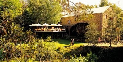 The Lane Vineyard Restaurant at Hahndorf, Australia