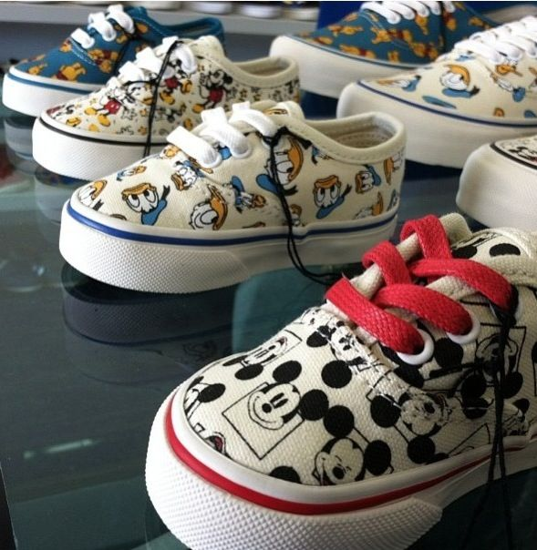Disney Vans for Kids Kids with swag. Oh hold the phone. These are so cool.