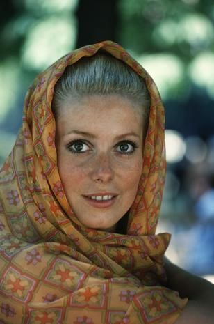 Catherine Deneuve nel 1965 Carole Bellaïche/Getty Images