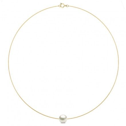 Solitary Pearl Necklace