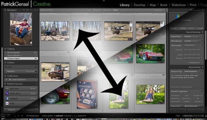 Quick Lightroom Tip: Moving Photos Between Catalogs